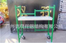 منصة عمل الإنشاءات، بناء الإطارات المتنقلة، إزالة الصمغ (مصنع حقيقي في كوانغ تشو)