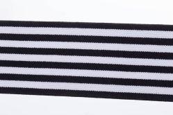 Stripe ruban élastique avec une bande de couleur