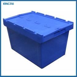 Пластиковый контейнер для транспортировки блока клапанов и Nest Перемещение контейнера с крышкой