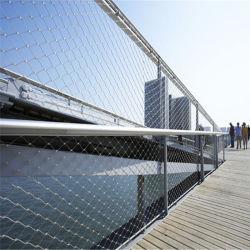 O fio de aço inoxidável de protecção de arquitetura cordas panos de Grade