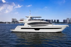 Seastella 85 ' Luxuxbewegungsyacht mit Flybridge