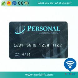 高周波Cr80スマートカードのPVCによって浮彫りにされるカード