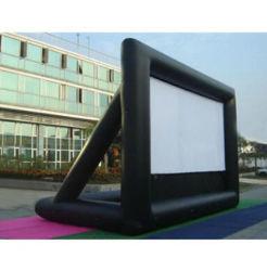 Publicidad OEM inflables patio al aire libre Pantalla de películas