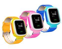 Сенсорный экран две телефонные звонки с помощью GPS/Agps/фунт Locatiion Детские часы с GPS нажмите Добавить друзей Smart смотреть Sos PT80 Thinkrace сигналов тревоги
