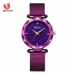 2018 Nouvelle arrivée Mesdames Bracelet Watch Creative Femme d'Anniversaire cadeau de promotion de l'aimant en acier inoxydable montre à quartz-V64