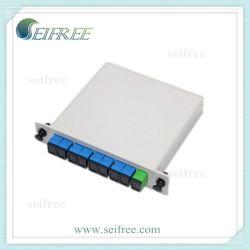 Insertar cuadro Tipo de PLC Splitter de fibra óptica (FTTH CATV PON)