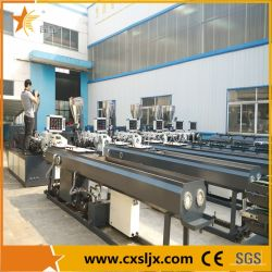 Línea de extrusión de tubo de PVC de drenaje de abastecimiento de agua