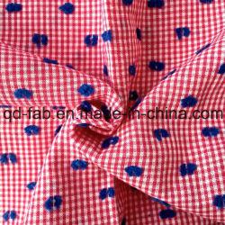 100%хлопчатобумажная пряжа Вся обшивочная ткань жаккард (QF13-0755)