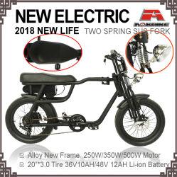 350W 3.0/4,0 polegadas pneu de gordura de alta velocidade 2018 Novo Homem barata de bicicletas eléctricas Beach Cruiser aluguer