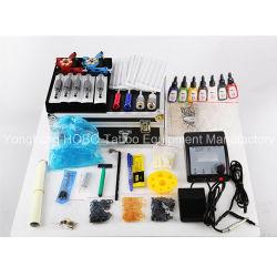 Kits de tatouage professionnel avec les machines de tatouage Accessoires du pistolet d'alimentation