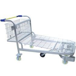 Carrito de la Herramienta de acero de almacenamiento de la plataforma logística de almacén Troley carro el carro