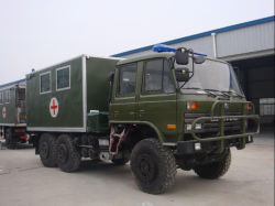 Road Medical Vehicle /Mobile Clinic Truck 떨어져 6X6