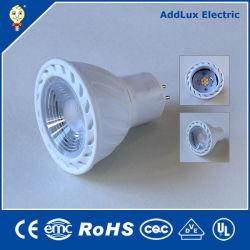 Ce 3W 5W 7W Creative COB Puce LED SMD Gu5.3 similaire fabriqués en Chine pour l'hôtel, l'accent, Bar, compteur, Showroom, affichage, chambre à partir d'usine de distributeur d'éclairage