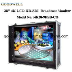 "Equipaje de mano de 4k de 28"" LCD HD-SDI MONITOR Broadcast"
