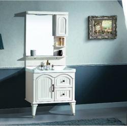 Style simple décent Bathromm PVC vanité Cabinet de haute qualité