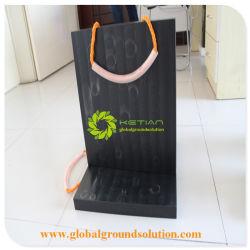 Черный цвет Anti-Impact UHMWPE жесткий Utility погрузчик Outrigger панель/чистого материала Outrigger тормозных колодок