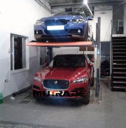 Mécanique du système de levage vertical hydraulique automatique à deux niveaux de parking
