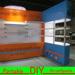 Mostra modulare portatile su ordinazione della fiera commerciale di DIY che fa pubblicità alla strumentazione di visualizzazione