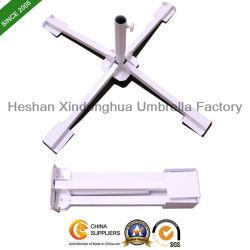 De vouwbare Basis van de Paraplu van de Zon van het Staal Dwars Openlucht (ub-001SC)