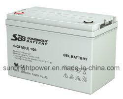 12V100AH البطارية جل مع CE بنفايات UL شهادة
