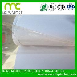 /Vinilo transparente de PVC blando/hoja flexible transparente para la cobertura de protección de la //Ventana/embalaje /Mantel/impresión