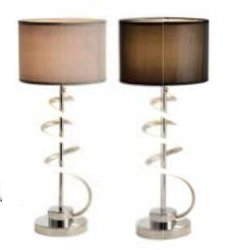 Hotel LED lámpara de mesita de noche con TIRA DE LEDS de la decoración, Interruptor de paso 3