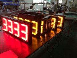Wasserdichte 24 Zoll rote 8888 Digital LED für den Außenbereich Tankstelle Preis Digital-Panel Schild Board LED Gas-Schild