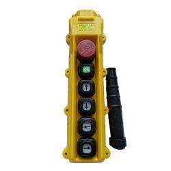 4 Punkte einzelne Geschwindigkeits-drücken Tasten-Schalter für Hebevorrichtung und Kran von Hand ein