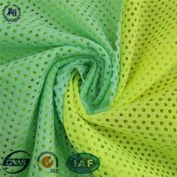 Venda por grosso de 80% poliéster 20% Lycra extensível de tecido de malha para sportswear
