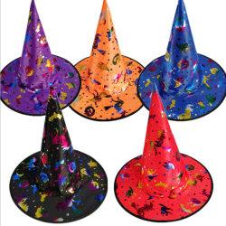Accesorio de sombrero de Bruja de Halloween Disfraces para Halloween Party