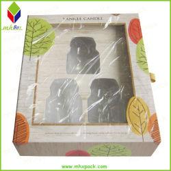 Оптовая торговля печатной платы с логотипом сдвинув лоток свеча Подарочная упаковка