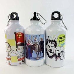 500ml Sublimation bouteilles d'eau sportive en aluminium avec couvercle à vis