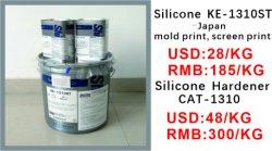 KE-1310 het Kledingstuk die van pvc de Materiële Lijm van het Silicone in reliëf maken