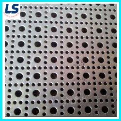 Anping orifício quadrado de fábrica peça de metal perfurada/ Orifício Redondo Tipo de metal perfurada/ Furação Wire Mesh