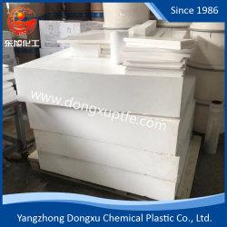 Fabriek 100% het Maagdelijke Afschavende Gevormde Teflon Plastic Blad van de Plaat PTFE/