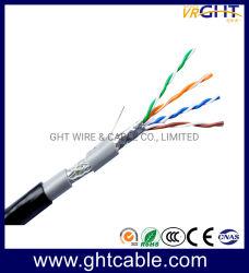 Кабель локальной сети для использования вне помещений SFTP Cat5e медный кабель сетевой кабель