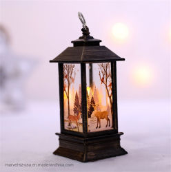 La decorazione domestica perfezionamento le decorazioni dell'albero di Natale dell'indicatore luminoso della candela di natale del LED