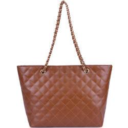Saco de PU designer de moda praia da Alavanca da Corrente Sacola grande saco Hobo Bag Sacola de Compras para meninas