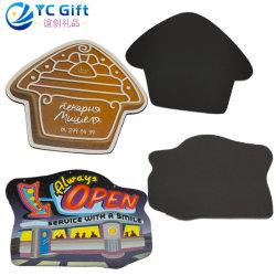 Factory Custom Fashion Home decorazione sintetica carta frigorifero magnete personalizzato Attività logo elementi promozionali Frigo Magnet per souvenir (FM28-C)