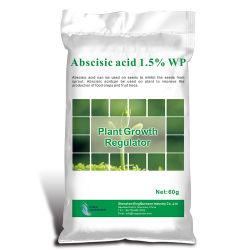 Schnellreagierender Pflanzenwachstum-Regler Schädlingsbekämpfungsmittel-Abszissensäure1.5% Wp-98% Tc