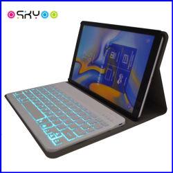 Nuevo estilo de teclado inalámbrico Bluetooth de luz LED