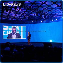 P1.2 P2.5 de LEIDENE van TV van het Pixel van HD Tribunes die van de Vertoning het Verticale Teken van de Vertoning adverteren