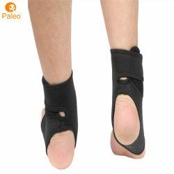 Elastische In te ademen Dunne Orthosis van de Enkel bindt Sok voor Basketbal vast