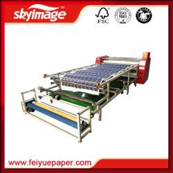 넓은 승화 인쇄를 위한 롤러 드럼 달력 열전달 기계 600mm*3200mm