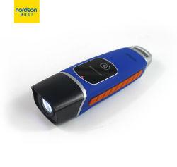 Inspeção de Equipamentos Toque Lanterna Porta USB à prova de segurança Ronda Sistema Patrulha