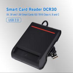Beweglicher Chip-Chipkarte-Leser Kontakt ISO7816 Identifikation-IS (DCR30)