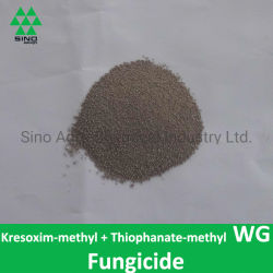 Kresoxim-methyl 10% + thiophanate-Methyl 40% Wg/Wdg van het Pesticide & het Bactericide van het Fungicide