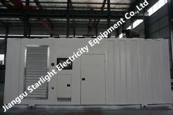 8 Diesel van de Container van Perkins van cilinders de Geluiddichte Elektrische Generators van de Generator 1000kVA