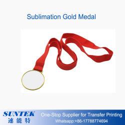 염료 승화 인쇄할 수 있는 메달 금 은 구리