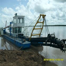Гидравлический добычи песка грязи всасывающая мощность всасывания Dredger режущего аппарата